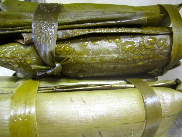 Banana Leave (Tupig) Sweet Rice and Coconut